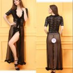 women robes lace sexy lingerie sleepwear5