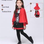 Little Red Riding Hood Cosplay Costumes Dress1